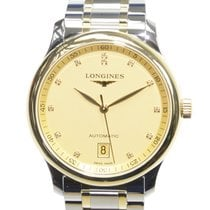 Longines Master 18k Gold Steel Gold Automatic L2.628.5.37.7