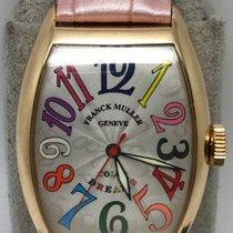Franck Muller Color Dreams 5850SC 18k Rose Gold Automatic FULLSET