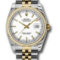Rolex 116243 Perpetual Datejust Stainless Steel&Yellow...