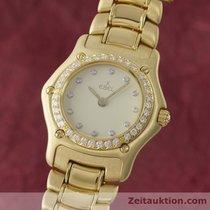 Ebel Lady 18k (0,750) Gold 1911 Damenuhr Diamanten 890910