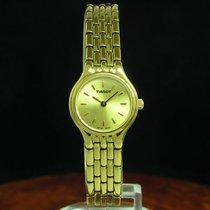 Tissot Stylist Gold Mantel / Edelstahl Damenuhr / Ref V232 /...