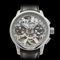 Maurice Lacroix Masterpiece Squelette Chronograph Stainless...