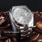 Rolex 116300 Datejust II Rhodium Arabic Dial Smooth Bez...