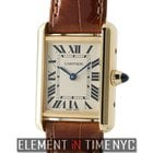 Cartier Tank Collection Tank Louis 18k Yellow Gold Ladies 22mm...