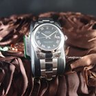 Rolex Datejust 178240 SS Boy Size Black Roman Smooth Be...