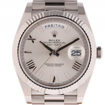 Rolex Day Date 40 Weißgold Automatik Präsident Armband 40mm...