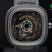 Sevenfriday P2/02 Black & Gold 47mm