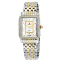Michele Deco II Mother of Pearl Dial Two-tone Stainless Steel...