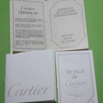 Cartier vintage wallet booklet papers and warranty pacha model