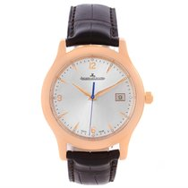 Jaeger-LeCoultre Master Control 18k Rose Gold Date Mens Watch...