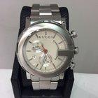 Gucci Ref. Ya101339 101m Chronoscope S/steel 44mm Men's...