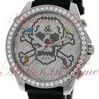 """Jacob & Co. Five Time Zone 47mm """"Skull"""", Pave..."""