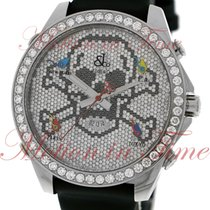 "Jacob & Co. Five Time Zone 47mm ""Skull"", Pave..."
