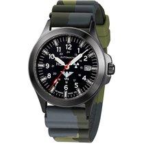 KHS Uhren Herrenuhr Black Platoon Titan Automatik KHS.BPTA.DC3