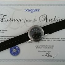 "Longines Military ""Greenlander""  WWW With Documents"