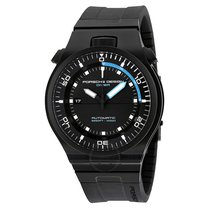 Porsche Design P'6780 Automatic Black Dial Titanium Black...