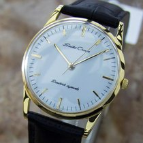 Seiko Crown Rare Vintage 1950s Made In Japan Manual Gold...