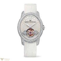 Girard Perregaux Cats Eye Tourbillion 18K White Gold &...