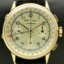 Leonidas Vintage Chnograph Triple Calendar 18kt rose gold