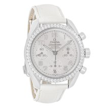 Omega Speedmaster Diamond Swiss Automatic Chronograph Watch...
