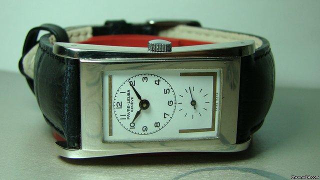 Favre-Leuba VINTAGE Prince Style WINDING Doctors WRIST WATCH Uhren