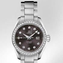 Omega SEAMASTER AQUA TERRA 150 M QUARTZ 30 MM  Diamantes