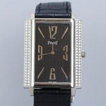 Piaget Black Tie 18K White Gold Diamond Watch
