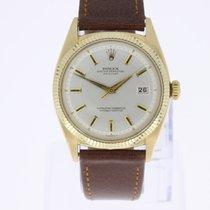 Rolex Vintage Datejust 18K Gold Mint unpolished condition
