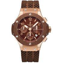 Hublot BIG BANG CAPPUCCINO ROSE GOLD & BROWN CERAMIC Watch