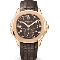 Patek Philippe AQUANAUT ROSE GOLD TRAVEL TIME