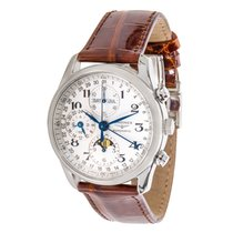 Longines Master Collection Leather Watch