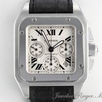 Cartier SANTOS 100XL GROSSES MODELL STAHL AUTOMATIK CHRONOGRAPH
