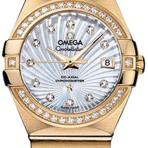 Omega Constellation Co-Axial Automatic 27mm 123.55.27.20.55.002