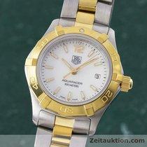 TAG Heuer Lady Aquaracer 300m Stahl / Gold Damenuhr Waf1424