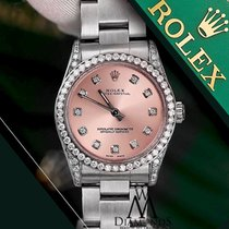 Rolex Diamond Ladies Rolex Oyster Perpetual Mid-size 31mm...