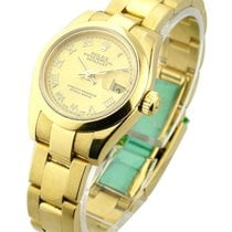 Rolex Used Lady's Yellow Gold President with Oyster Bracelet