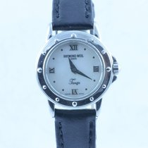 Raymond Weil Damen Uhr 25mm Tango Rar Stahl/stahl Schöner...