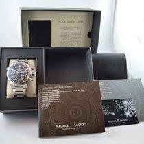Maurice Lacroix Pontos S Chronograph Black Dial