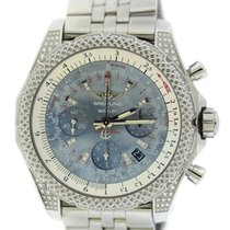 Breitling Bentley B06 MOP Diamond Stainless Steel