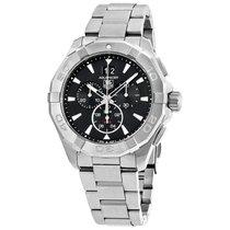 TAG Heuer Men's CAY1110.BA0927 Aquaracer Chronograph Black...