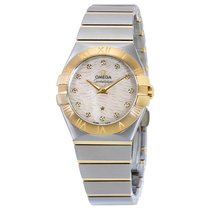 Omega Constellation Stainless Steel and 18kt Yellow Gold Watch...