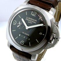 Panerai Unworn  Pam 270 Steel Luminor 44 Mm 1950 10 Days Gmt...
