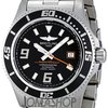 Breitling Superocean 44 Black Dial Stainless Steel Mens Watch...