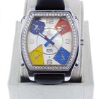 Jacob & Co. . JC-1 5- Time zone stainless steel watch
