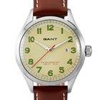 Gant Icon W70461 Herrenuhr mir Wechselband Leder braun + Nylon...
