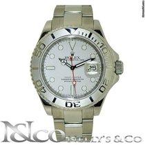 Rolex YachtMaster - M Serial Platinum Bezel