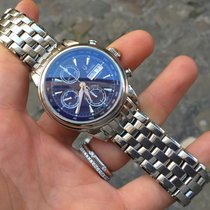 Bulova Accutron acciaio steel automatico chronograph Full 40 mm
