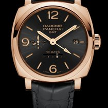 Panerai RADIOMIR 1940 10 DAYS GMT AUTOMATIC ROSE GOLD PAM625