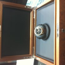 Blancpain Villeret 8 Days Black Dial Black Leather Men's