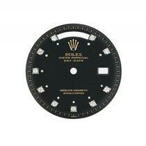 Rolex Zubehör - Zifferblatt Day-Date schwarz matt Diamond Vintage
